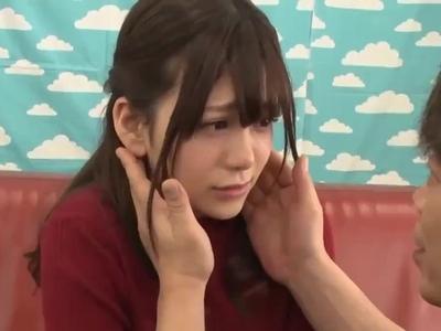 「1分1万円!?」賞金に騙されて絶倫男優チンポでイキ狂う美少女ロリ