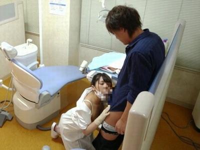 歯科衛生士に痴女られたい!誰もが一度は考える内緒のサイレントパコ