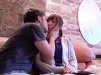 不倫サイトで知り合った美人若妻とホテルで濃厚ハメ撮り!