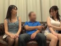 「夫のより…気持ち良いですぅ…」刺激を求め人妻交姦