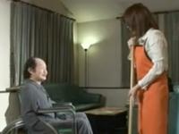 「私で…めいっぱい抜いてくださいね?」爆乳介護士・大島あいるによるご奉仕性介護