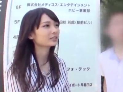早稲田のパイパンJDナンパ→ホテル連れ込みガチ中出し!