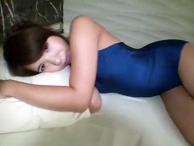 素人お姉さんとホテルデート→スク水着せてハメ撮りパコ開始!