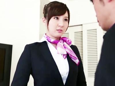 愛人契約を結ばされた美人CA・辰巳ゆい→ホテルに呼びつけられねっとりパコ!