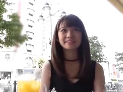 「精子苦いっ」乃木坂46にいそうなアイドル級美少女が野外フェラ→ザーメンごっくん