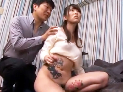 「早くおちんぽちょうだぁい!」全身タトゥー美女・波多野結衣を激ピスハメ!