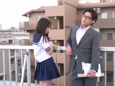才色兼備な美少女JKが担任教師と交際→クラスメイトにバレ中出しレイプ