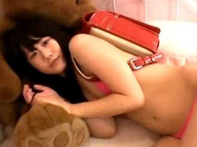 裸ランドセルとかいうロリコン歓喜なパイパン娘に中出し!