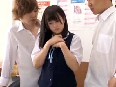 「何するの・・やめて!」純真無垢な美少女JKがクラスメイトに輪姦レイプされ強制中出し!