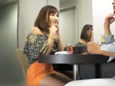 「え…中に出しちゃったの?」川崎駅でキャバ嬢風素人をナンパ→ホテルに連れ込み無許可中出しw
