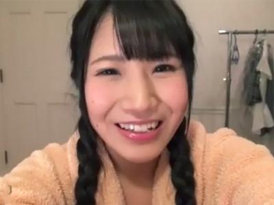 「お顔に濃いの頂戴…?」むちむちの童顔JKの妹マンコに激ピスしてザーメン顔射