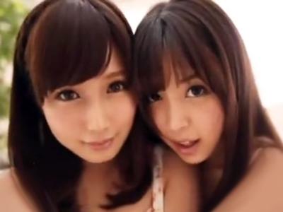 「どっちのオマンコが好きですか…?」絶世の美女二人と濃厚3Pパコでザーメン顔射