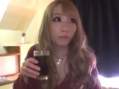 金髪のヤリマンギャル娘を本気パコでザーメン強引に膣内射精