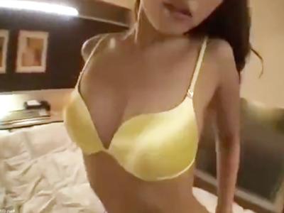 極上ボディのキャバ嬢とアフター後のホテルでハメ撮り性交