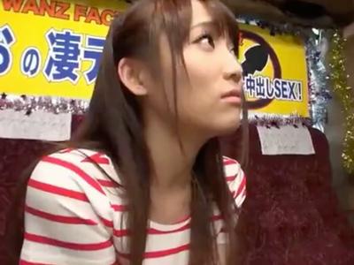 「いっぱい出ちゃいましたね」倉多まおが一般男性にスゴテクを披露!