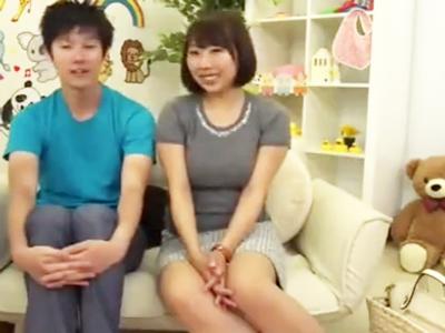 フェロモン美女の授乳手コキに耐え切れたら100万円→結果www