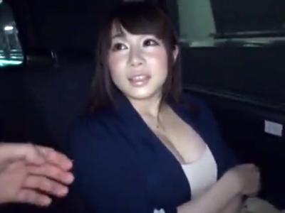 「少しだけですよ‥?」とか言ってガッツリ不倫SEXしちゃう爆乳若妻!
