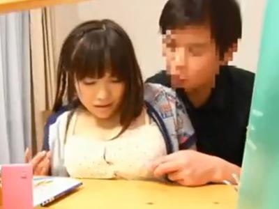 変態家庭教師から勉強そっちのけで悪戯されて挿入までされてしまう巨乳JK娘