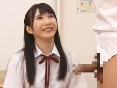 クラス一の美少女JKと体育倉庫でコッソリパコ→無許可中出しで学生妊娠確定