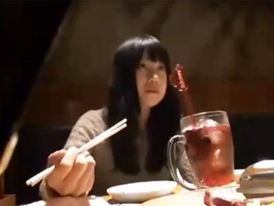 居酒屋で出会った素人娘をナンパして交渉→何とか撮影ハメ成功