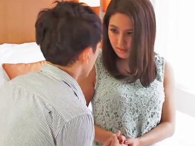 欲求不満な人妻が3ヶ月ぶりの性交にマジイキ絶頂w
